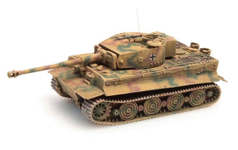 Tiger I Zimmerit Ausf. Wittmann camo