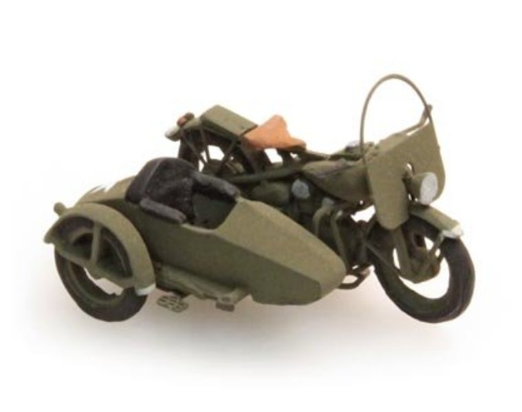 U.S. Liberator with sidecar