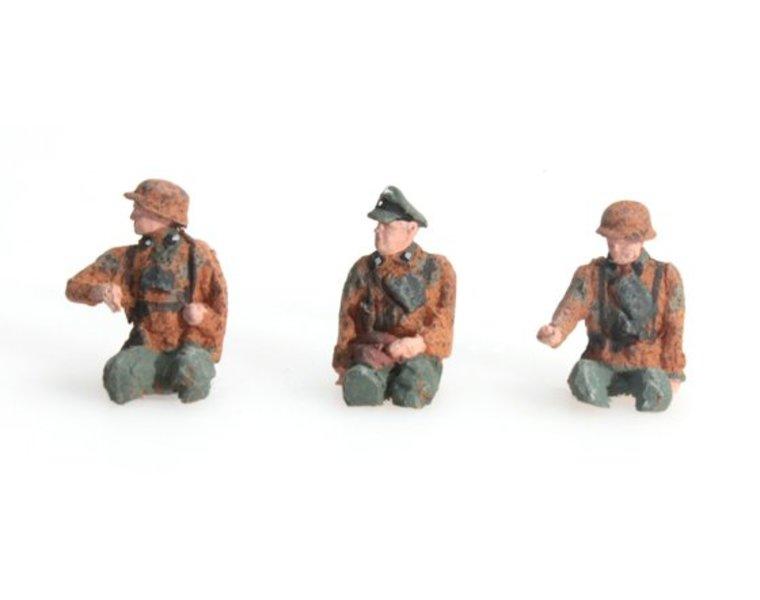 Besatzung Kübelwagen Tarnung