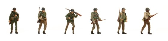 US Infantry 6 figures