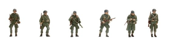 US Paratroopers (6 fig)