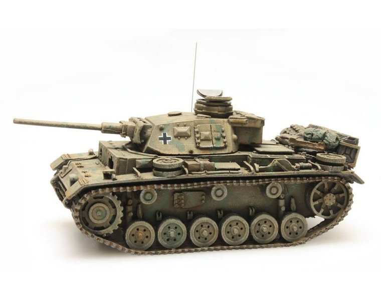 Panzerkampfwagen III Ausf L Tarnung