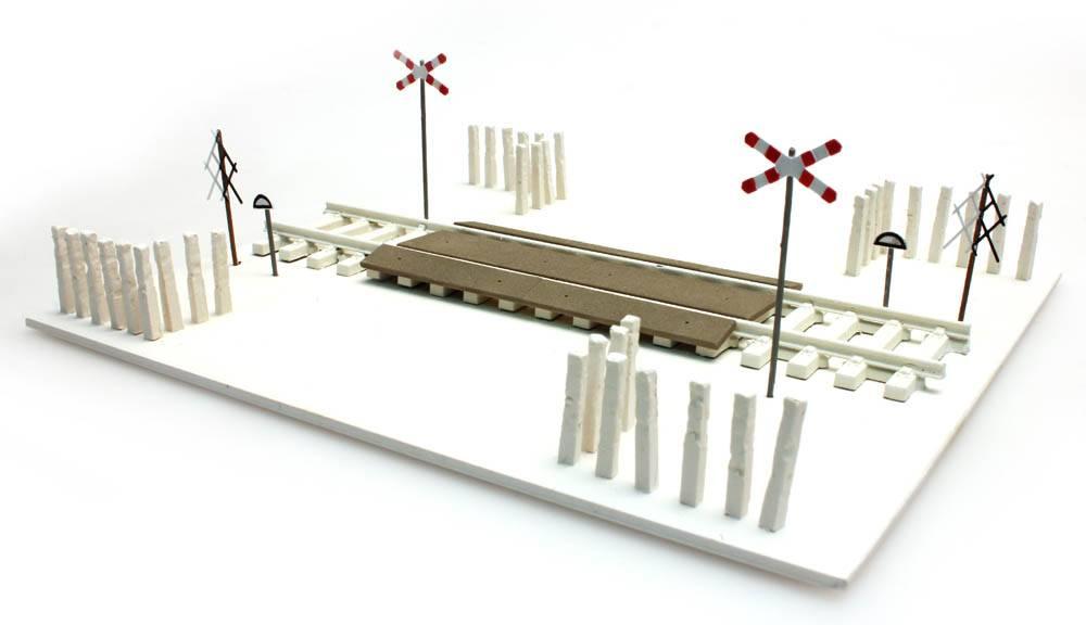 Poolse overweg, 1:160 | N, bouwpakket, III - VI