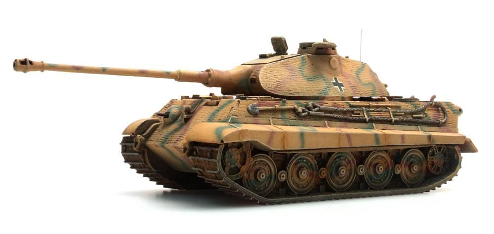 Tiger II (Porsche), Zimmerit, Camo, 1:87 kant-en-klaar