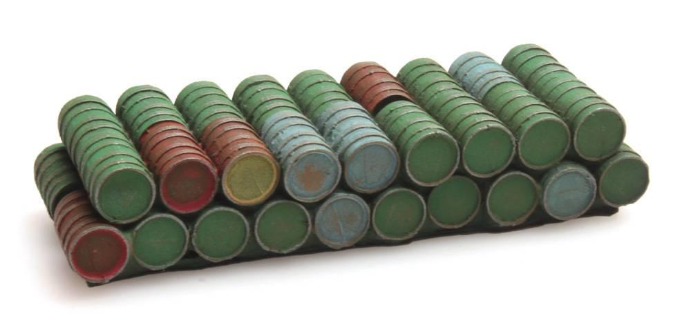 """Cargo """"barrels"""" for DAF flatbed truck"""