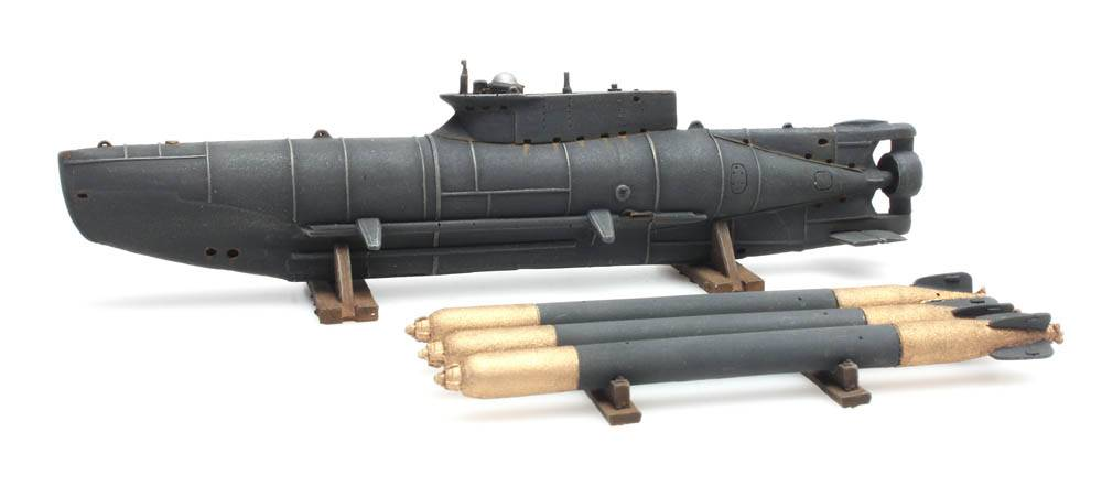 Seehund midget submarine, full hull, kit