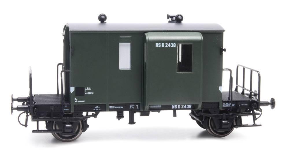 Güterzugbegleitwagen DG D NS 2438 Grün