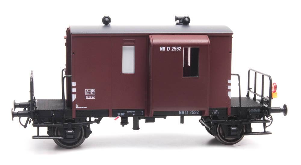 Güterzugbegleitwagen DG D NS 2592 braun