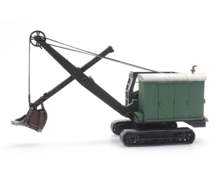 Bucyrus RB17 Excavator (US Army en civiel)