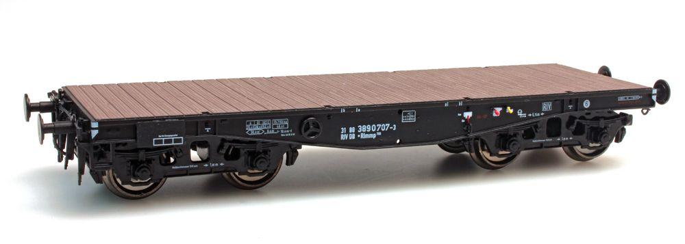 Flach gewölbter Träger DB Rlmmp 700 31 80 389 0 707-3 1970-1987