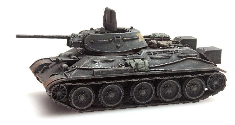 T34-76 Wehrmacht Beute