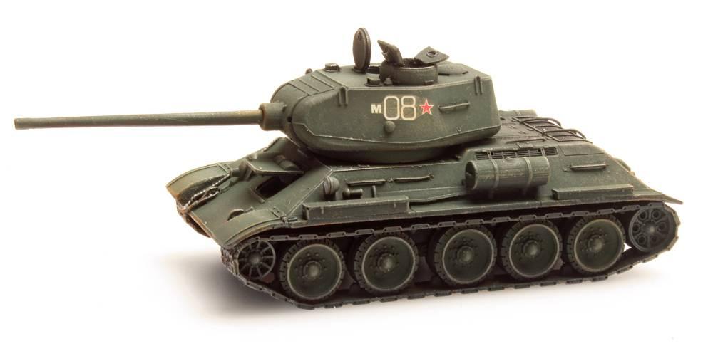 T34-85 Soviet Army Green