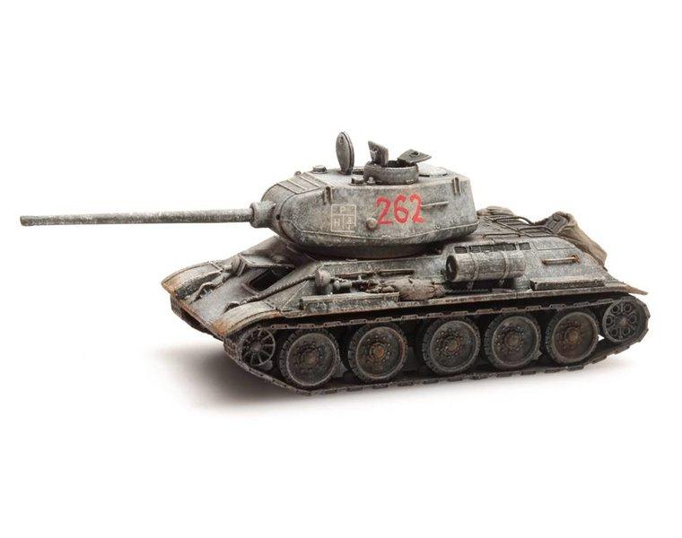 T34-85 Sovjet-leger Winter