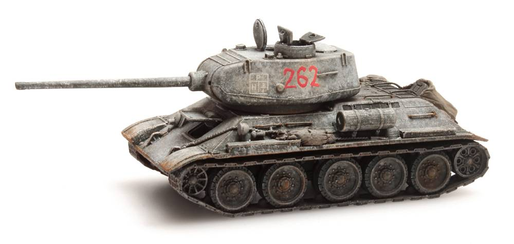 T34-85 Sovjet-leger Winter