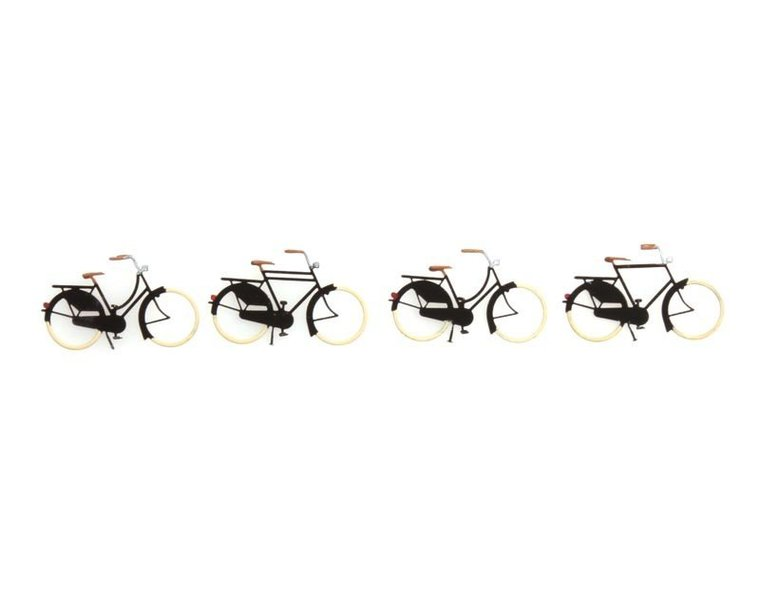 Fahrräder alt, 1:87