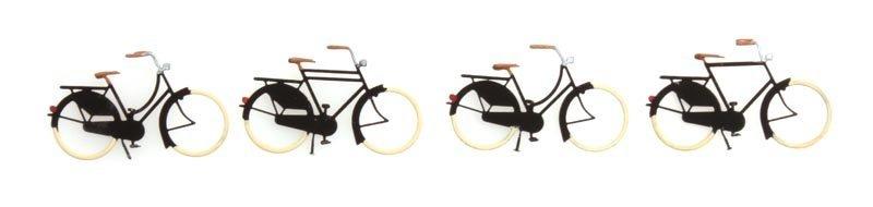 Fahrräder alt, 1:87, Fertigmodell aus Ätzteilen, lackiert