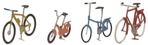 Bicycles modern, 1:87, readymade, painted
