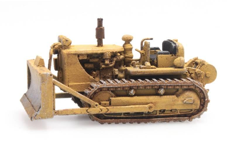 Bulldozer D7 geel