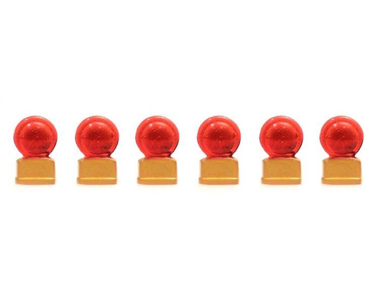 Rot Zugschlusssignal (6x)