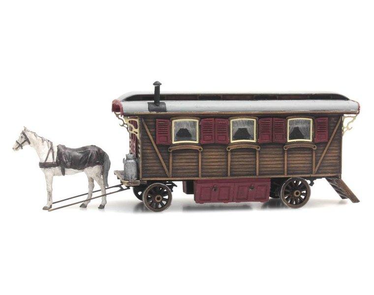 Wohnwagen (Kirmes oder Zirkus)