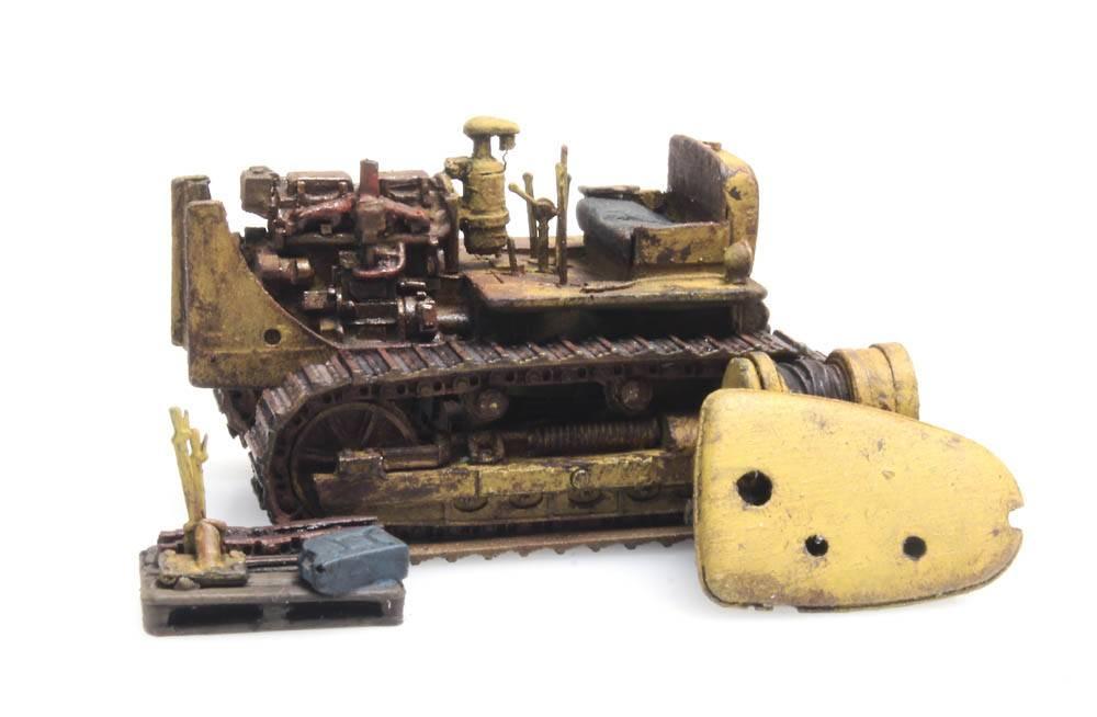 Bulldozer D7 rusty (RIP-Series)