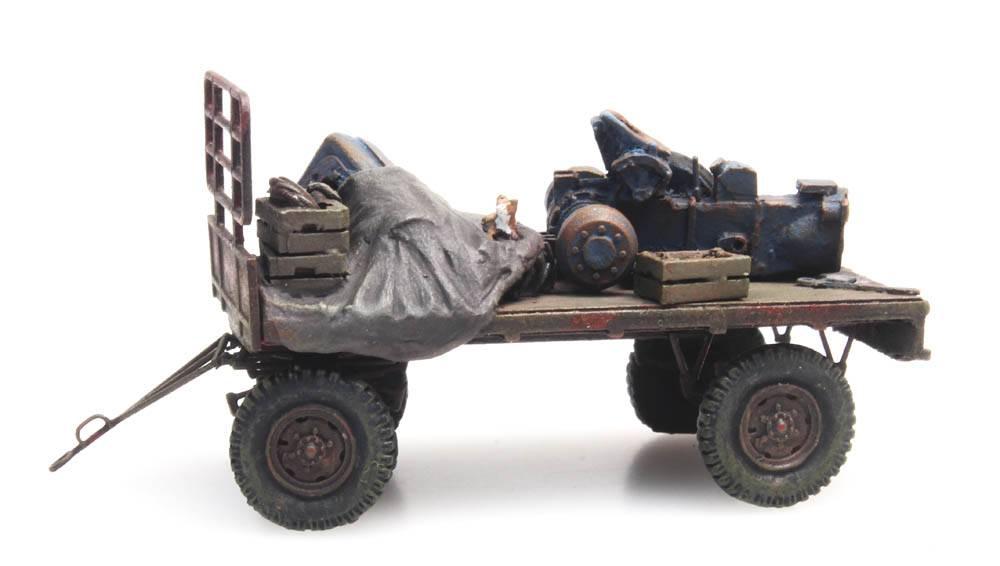 Hooiwagen verroest (RIP-Serie)
