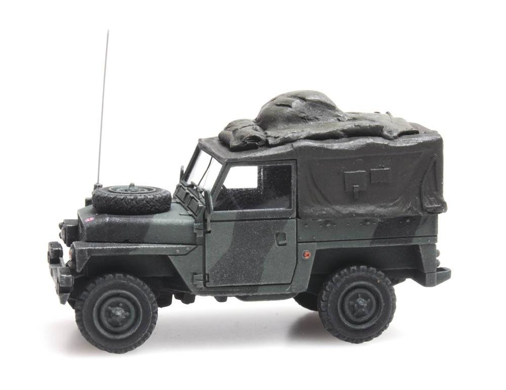 UK Land Rover 88 lightweight combat ready
