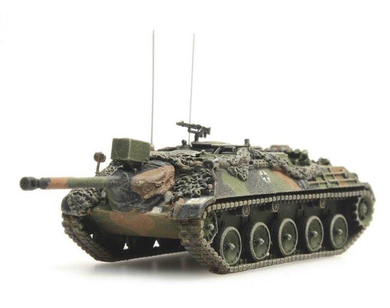 Kanonenjagdpanzer 90mm Flecktarnung gefechtsklar