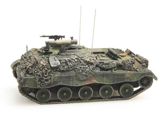 Österreichisches Bundesheer Jaguar 1 Flecktarnung gefechtsklar