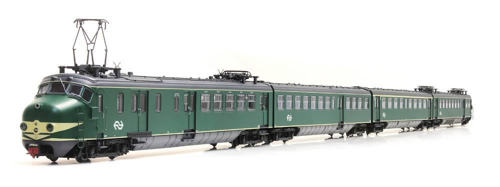 HK4 764, groen, NS-logo, A-sein, ATB, DC LokPilot, IVa