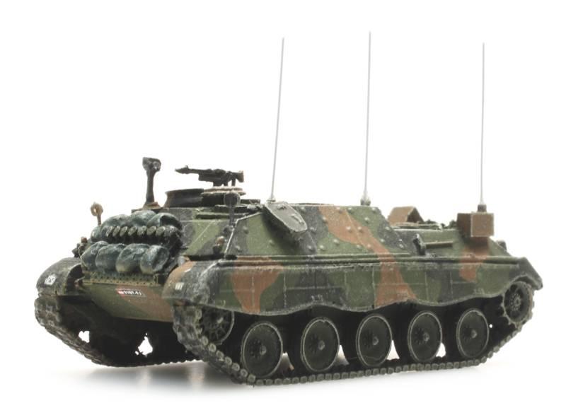Österreichisches Bundesheer Jaguar 2 Führungspanzer Flecktarnung
