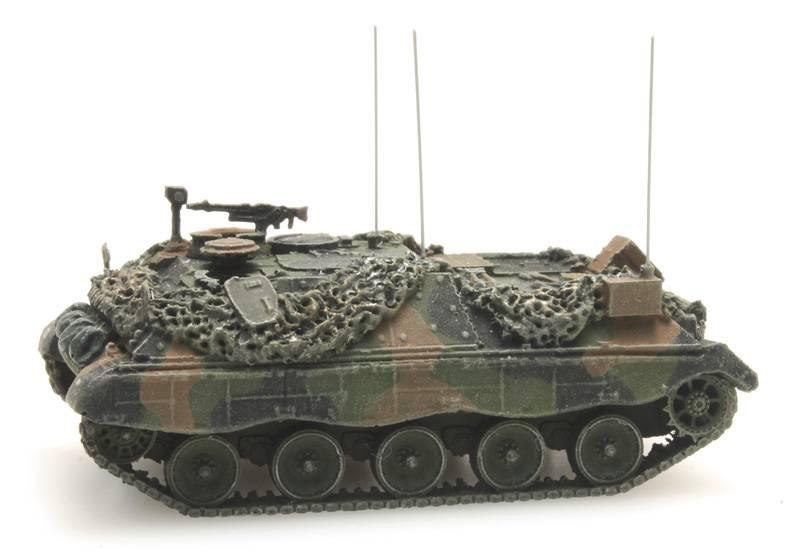 Österreichisches Bundesheer  Jaguar 2 Führungspanzer Flecktarnung  gefechtsklar