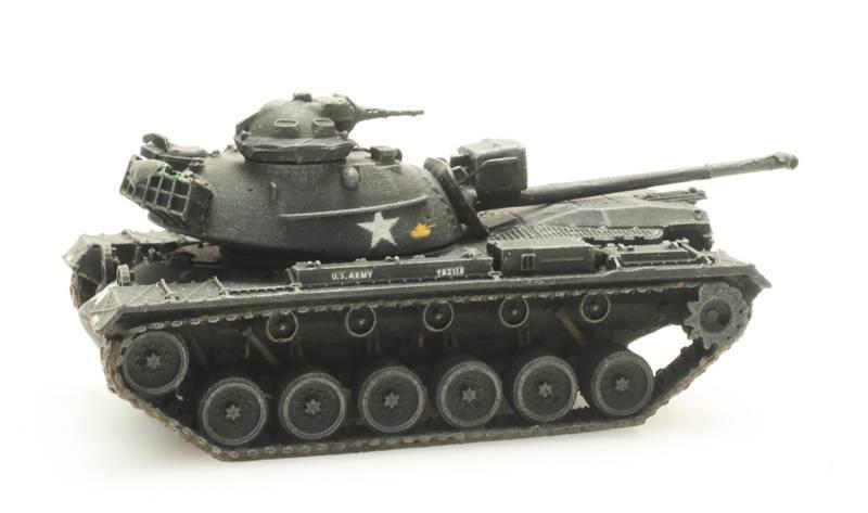 US Army M48 A2 train load