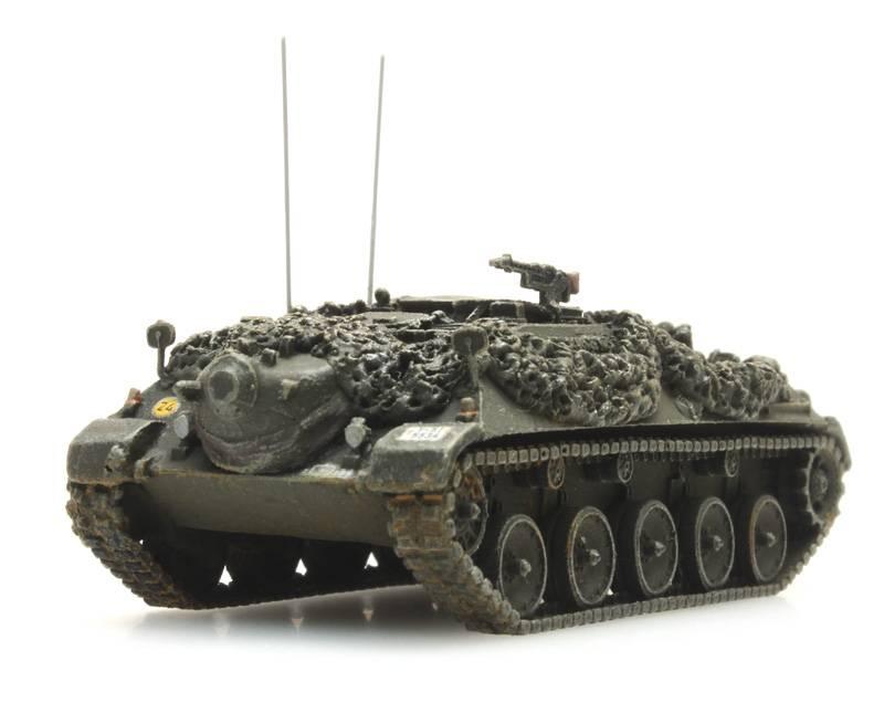 Bundeswehr Beobachtungspanzer gelboliv gefechtsklar