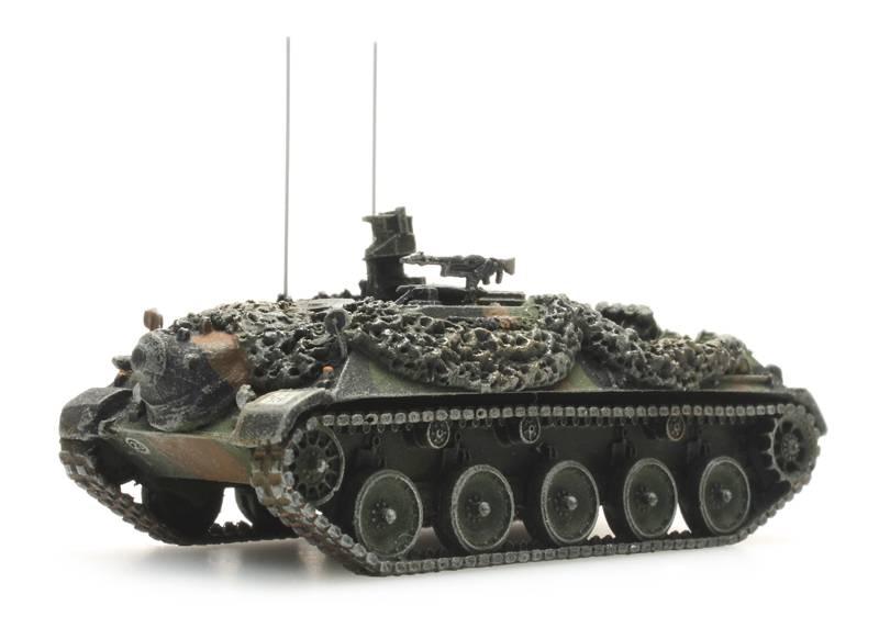 Bundeswehr Beobachtungspanzer Flecktarnung gefechtsklar