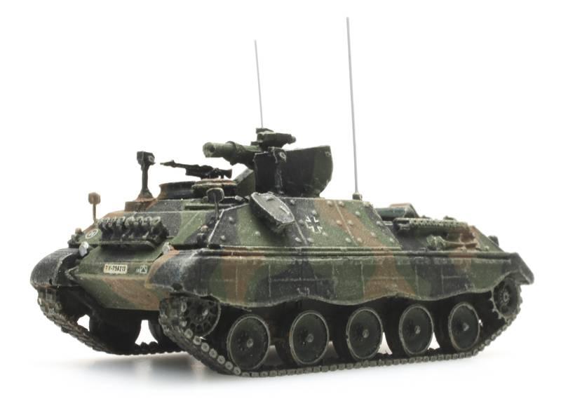 Jaguar 2, Flecktarnung