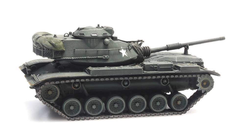 M60A1 olive green train load