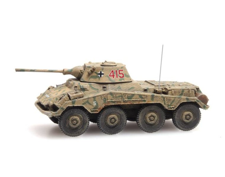 SdKfz 234/2 Puma, Tarnung