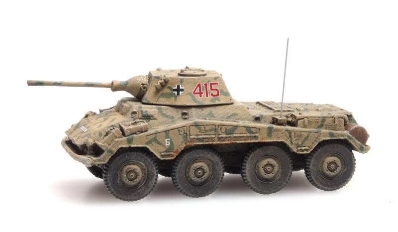 Wehrmacht SdKfz 234/2 Puma, Tarnung