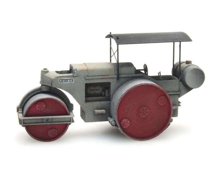 Road roller Kaelble grey