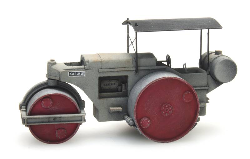 Road roller Kaelble grey