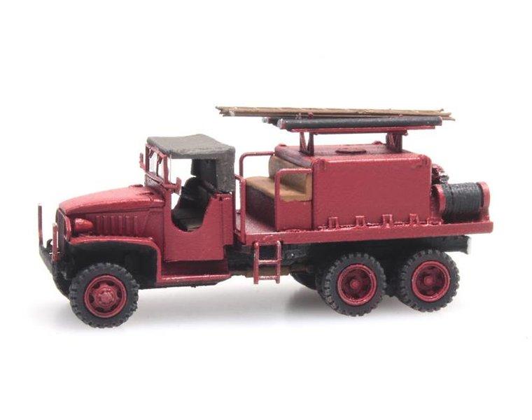 GMC 353 Fire truck