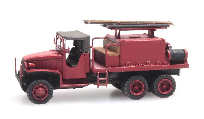 GMC 353 Brandweer