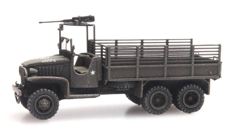 GMC 353 cargo with MG