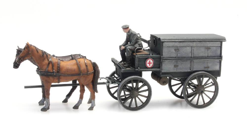 WWI Ziekenwagen