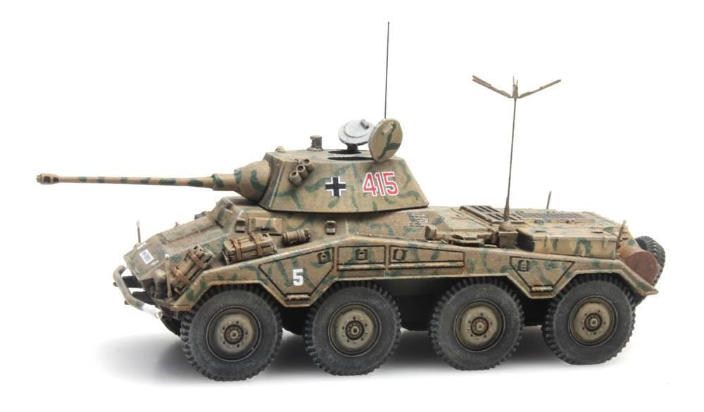 Sd.Kfz. 234/2 Puma, Tarnung