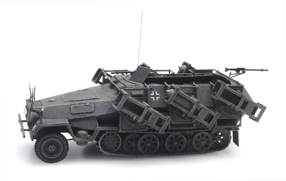 SdKfz 251/1 Ausf. B mit Wurfrahmen, grau