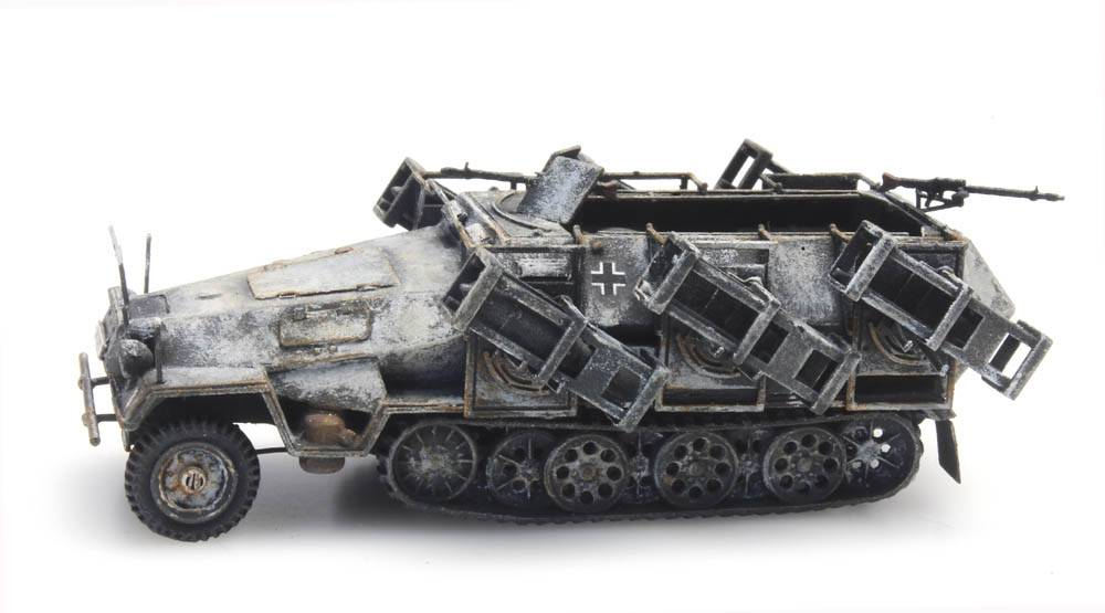 SdKfz 251/1 Ausf. B mit Wurfrahmen, Winter