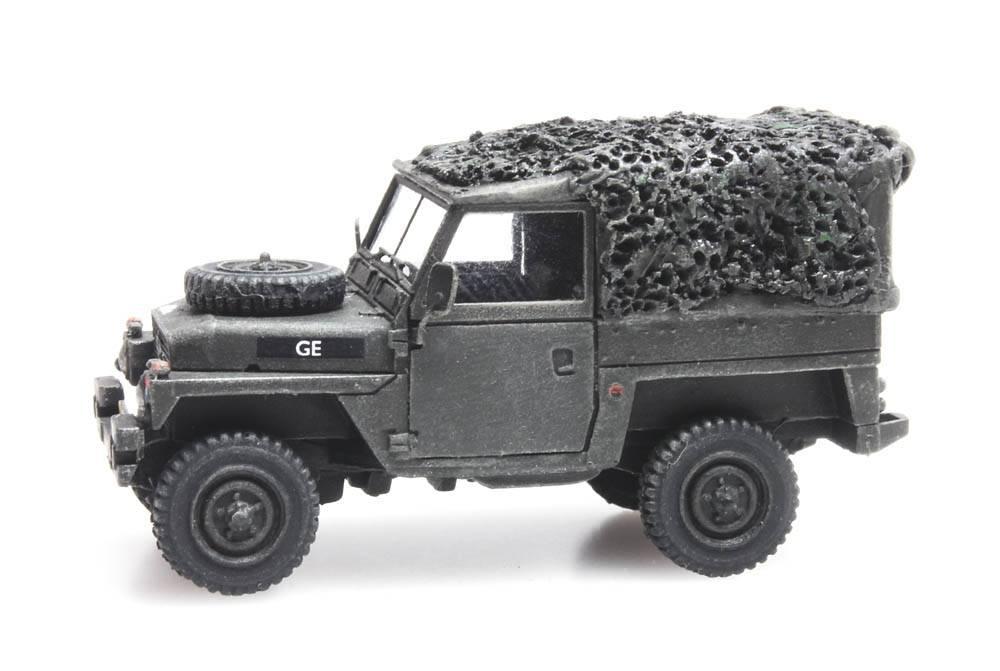 Land Rover 88 lightweight gevechtsklaar