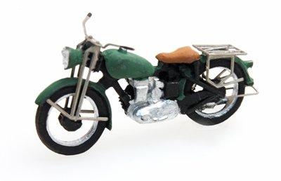 Motor Triumph civiel, groen, 1:87 kant en klaar, geverfd
